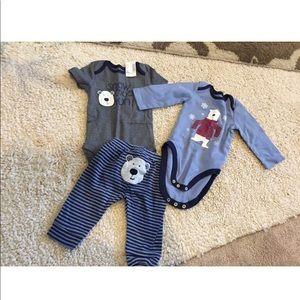 The Children's Place 6-9 mos set bundle outfit boy